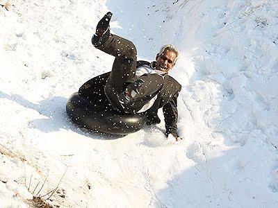 Winter fun for Tehrani people
