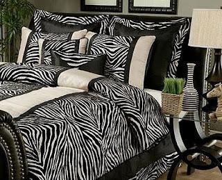 Zebra Bedding