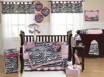 crib zebra bedding