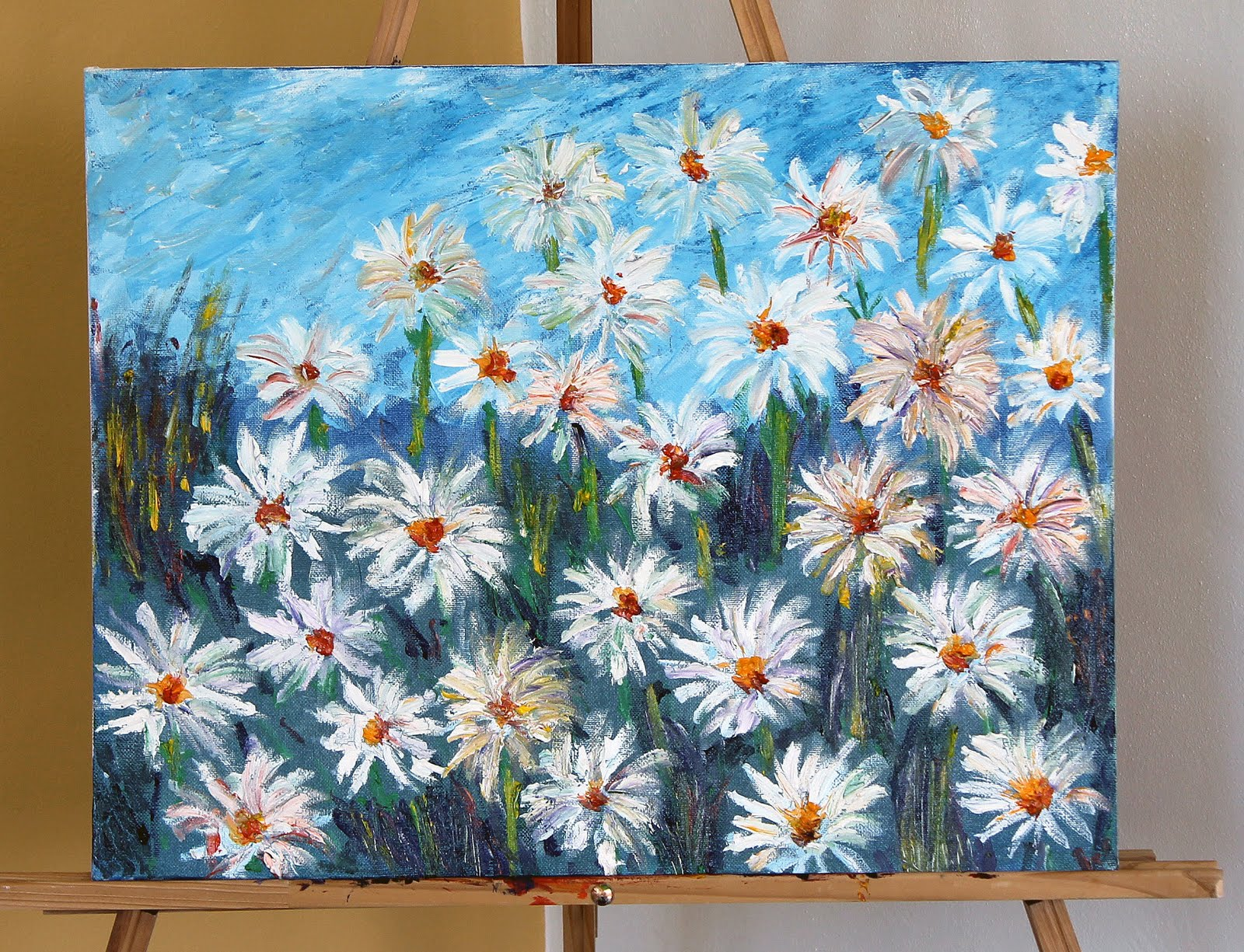 Om oil painting