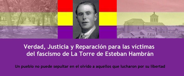 Reparación Víctimas fascismo LaTorreEstebanHambrán