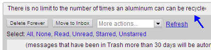 Gmail Recycling Tips