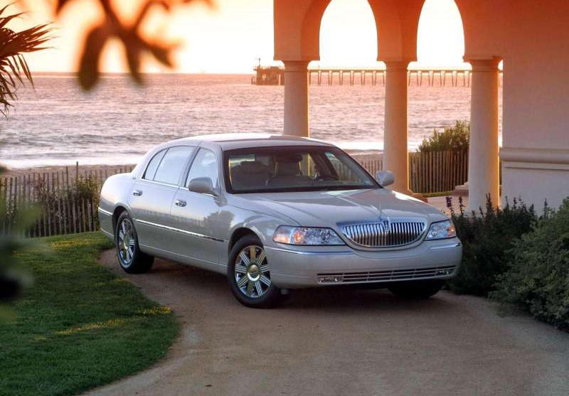 2002 Oldsmobile Bravada Indy Pace Car. Lincoln Town Car, 2003