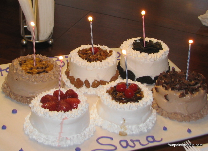 The Four Points Foodie: Surprise Birthday Luncheon for Sara Pickett