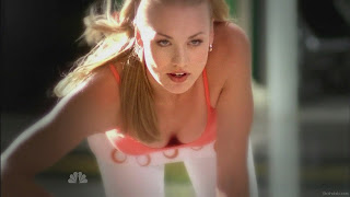 Yvonne Strahovski on all fours