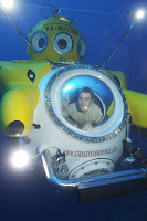 Brady Barr in his yellow submarine