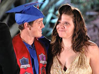 Josh and Ashley wears a cap and gown for the very first time