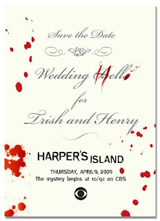 Harper's Island Wedding Invite