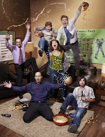 The cast of The League