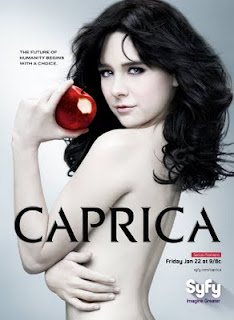 Some naked chick promoting Caprica