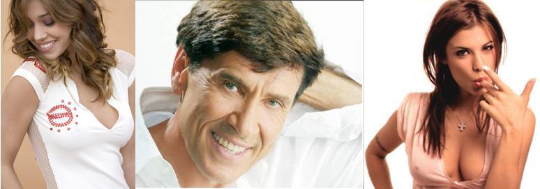 Una tetuda argentina, un señor viejo y la novia de George Clooney