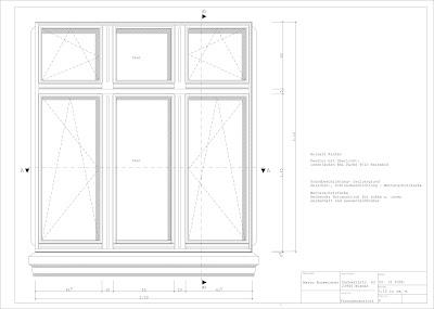 Wohnhaus dankwartstra e for Fenster detail schnitt