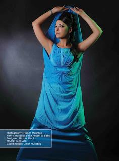 Zeba Aali Photoshoot for Hazree Wahid
