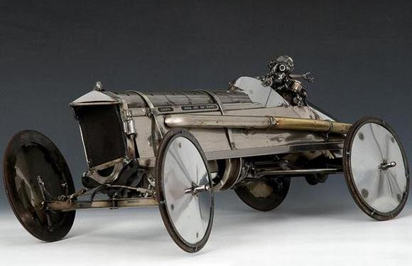 11 amazing Sculptures made By Car Parts 10