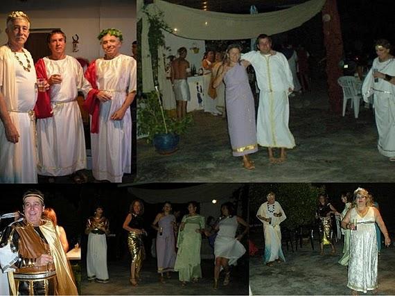 """Celebración Fiesta de los Parros """"Noche de romanos"""", en el 2009"""