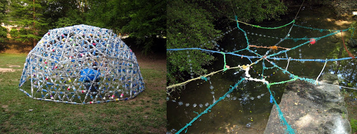 Bottle Dome and Bottle Web installed