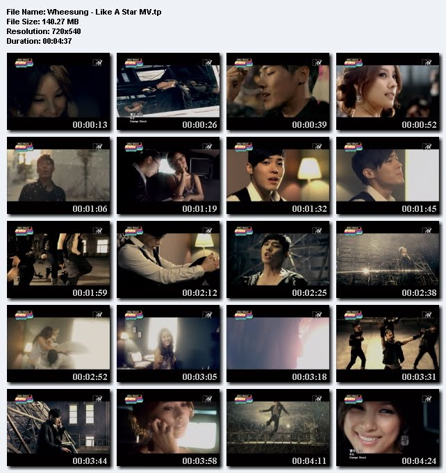 [080000] Wheesung - Fading Star (Starring Lee Hyori) [140M/tp] Wheesung-LikeAStarMV