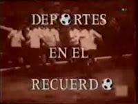 deportes en el recuerdo