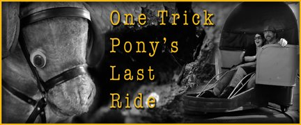 One trick pony's last ride
