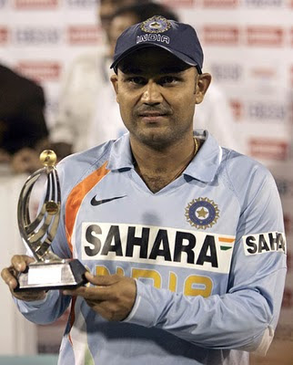 Sehwag Man of the Match