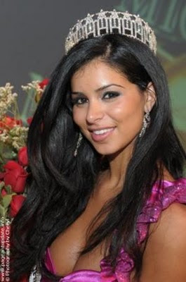 Rima Fakih Miss USA stills