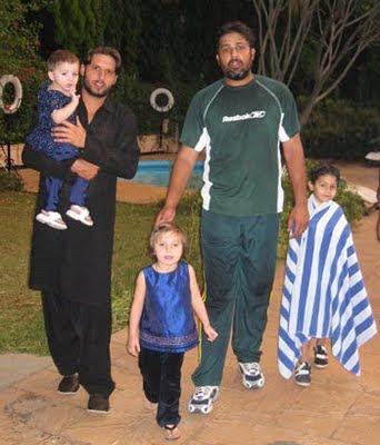 Afridi and Inzamam