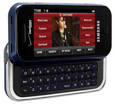 Samsung Mobile Phone Glyde Touch Screen model