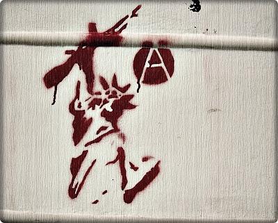 Libertad graffiti anarquía