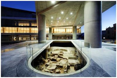 Nuevo museo de la Acrópolis abre sus puertas
