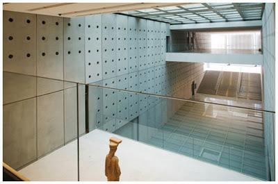 Hoy, 18 de junio de 2009, nuevo museo de la Acrópolis abierto al mundo y a la prensa mundial