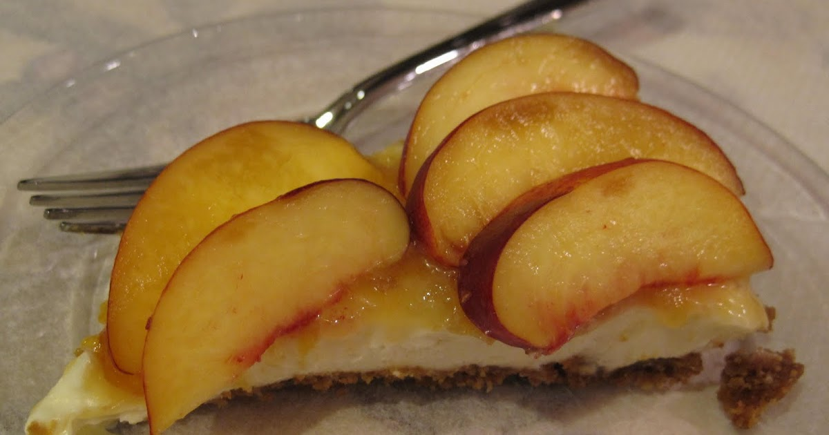 Yum Yum: Nectarine & Mascarpone Tart
