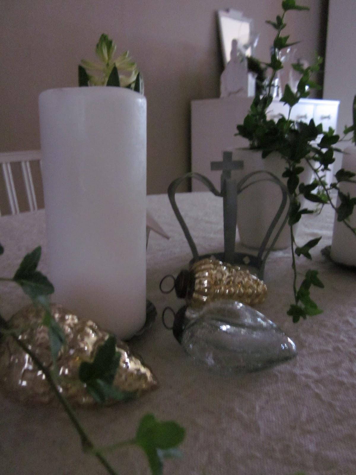 Vikeskärs hem och vardag: dekoration av bord