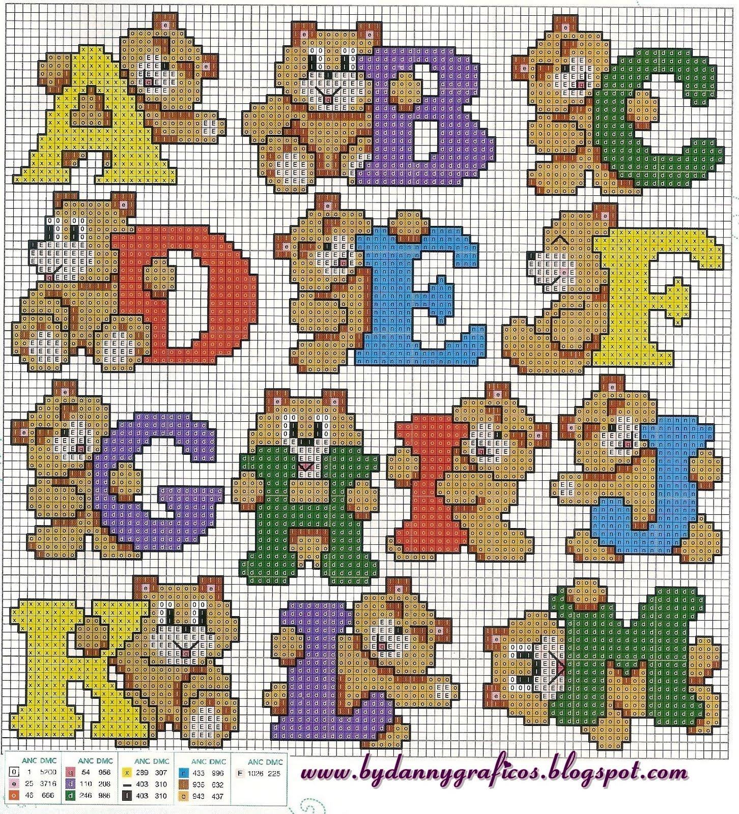 Alfabeto de ursinhos!