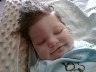 smiling baby Mason