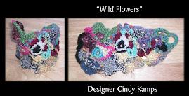 Wild Flowers CUFF Bracelet
