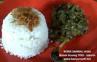 Kuliner 117 - Bebek Goreng YOGI, Jakarta
