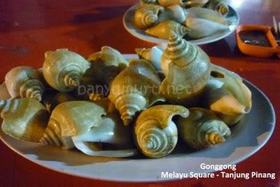 Kuliner 120 - Gonggong, Tanjung Pinang