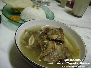 Kuliner 81 - Warung Wayangku, Bandung