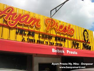 Kuliner 86 - Ayam Presto Ny. Nita, Denpasar