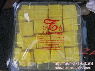 Kuliner 94 - Tahu Tauhid Lembang, Bandung