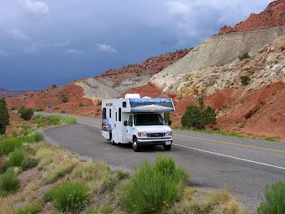 Autocamper på landevejene i USA