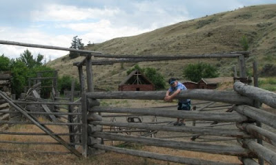 Hat Creek Ranch, British Columbia, Canada. Vi kom dertil i autocamper