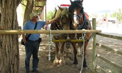 Vores rejser i autocamper bragte os til Hat Creek Ranch, British Columbia, Canada
