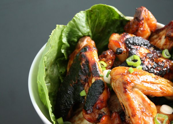 Brown Sugar And Soy Sauce Chicken Wings