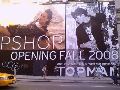topshop topman new york falgship store soho US