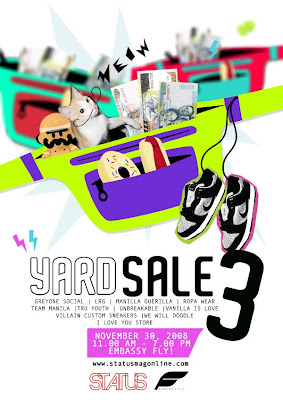 yard sale grey one social embassy bar fly supperclub Greyone Social | LRG | Manila Guerilla | Ropa Wear | Team Manila | Tru Youth | Unbreakable | Vanilla Is Love | Villain Custom Sneakers | We Will Doodle | I Love You Store | All Star | anak ng kwek