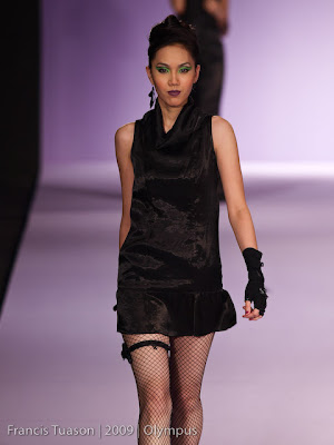 lizanne cua  philippine fashion week 2009 grand allure runway models designers photos