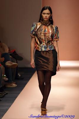arnold galang philippine fashion week 2009 holiday designers models runway