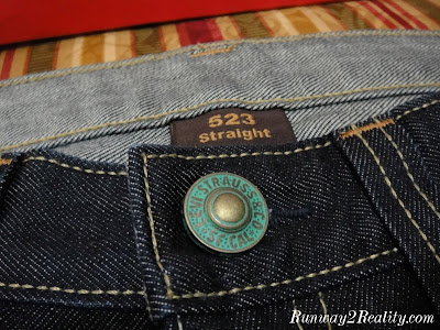 levis imprint denim jeans
