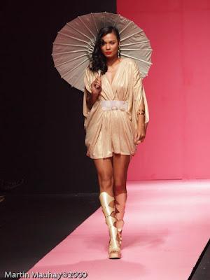 Manelle Chamian Philippine Fashion Week Spring Summer 2010 Luxewear